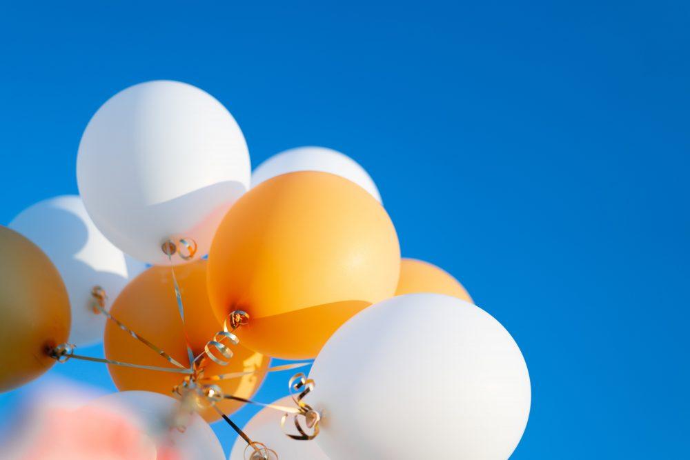 幸せを表す風船